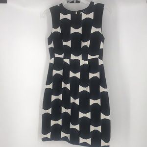 Kate Spade 100% Viscose sleeveless midi dress